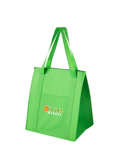 83 Y2kc1315 Insulated Non Woven Grocery Tote Bag And Poly Board Insert Zoom